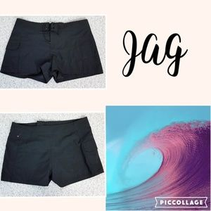 NWT JAG Black Board Shorts With Pocket - Women's L